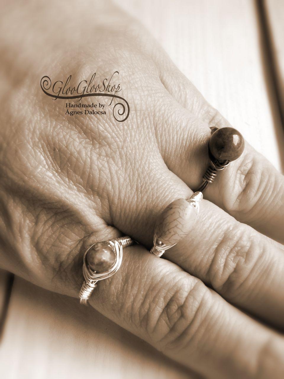 A belső fény útján... természetes lepidolit ezüstözött gyűrű