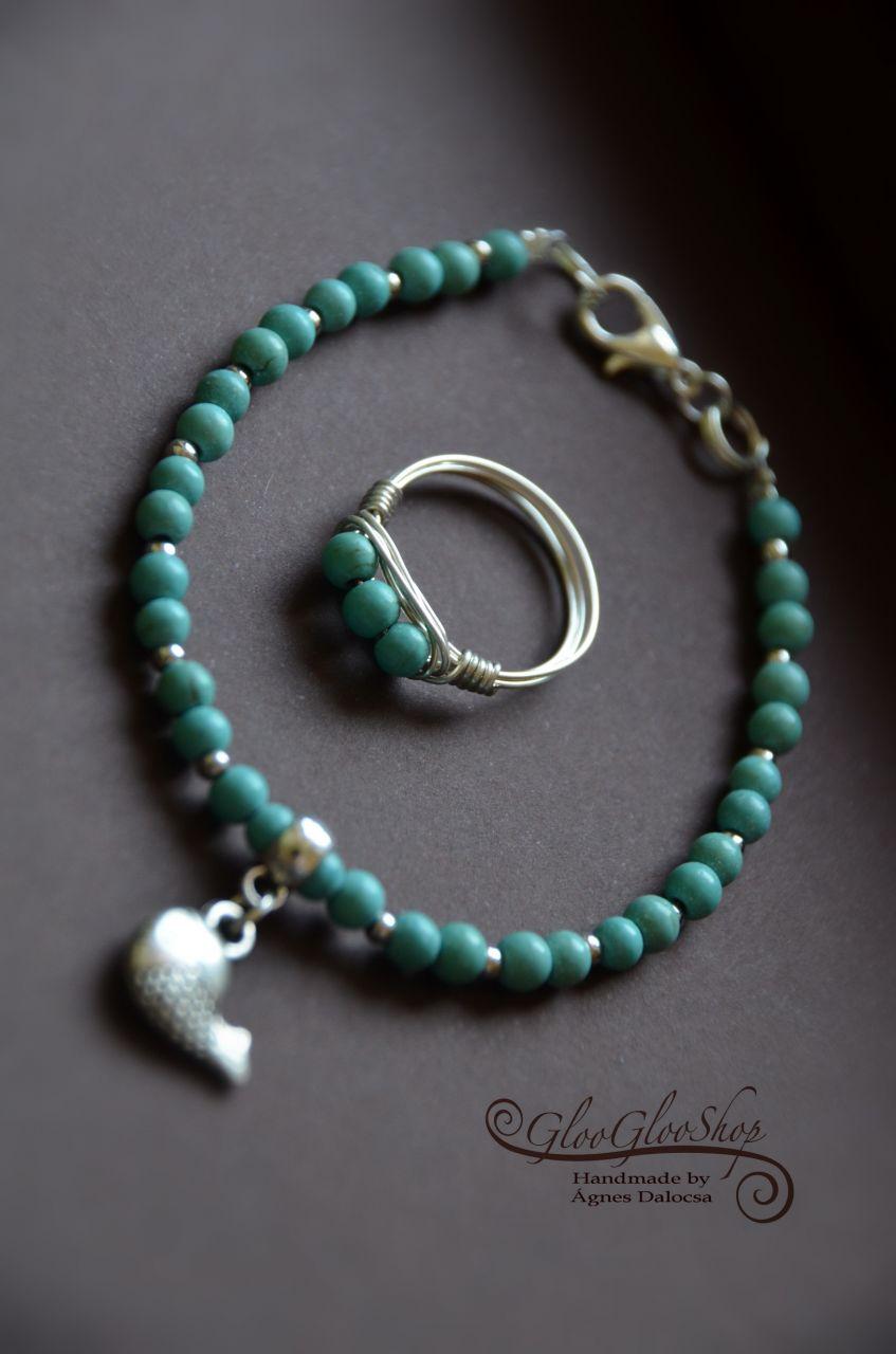 Se nem kék, se nem zöld... türkinit gyűrű