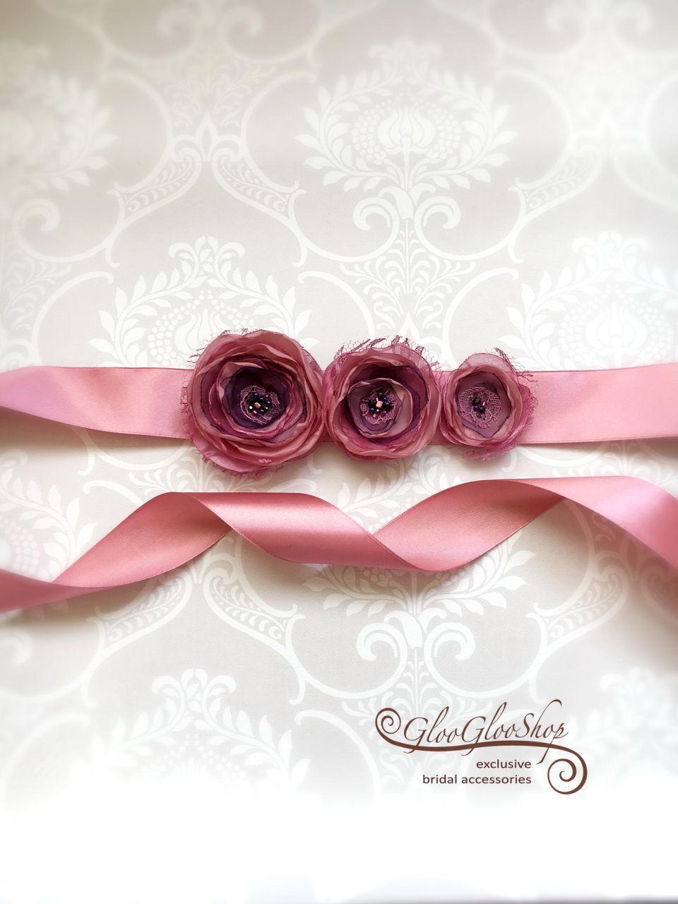 Rozina - egyedi menyasszonyi öv